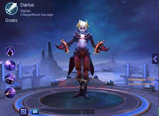 Hero Baru Darius (Dyrus), Hero Fighter Tersadis Mobile Legends