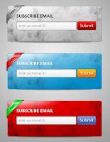 Mẫu hộp đăng ký đọc qua Email đẹp cho Blogspot