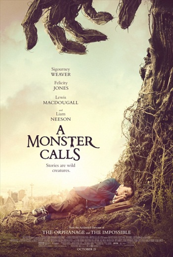 A Monster Calls 2016 DVDScr English 700Mb