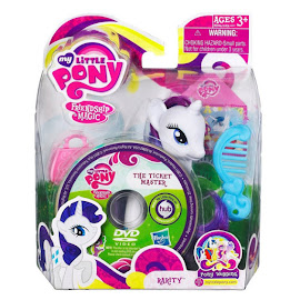 My Little Pony Single Wave 1 with DVD Rarity Brushable Pony