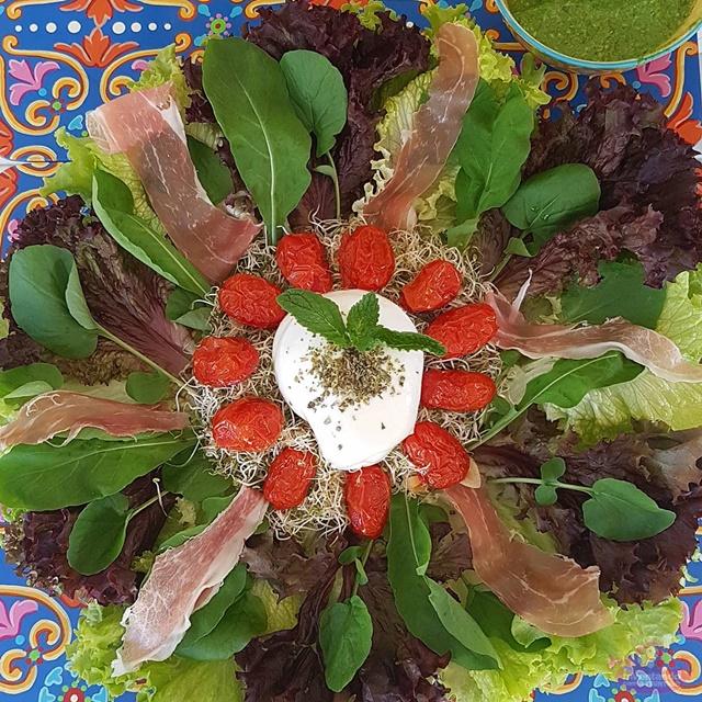 Ideias de saladas diferentes