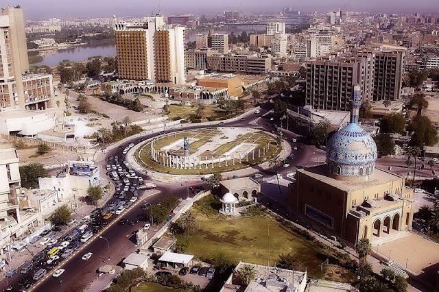 Foto kota Baghdad pusat Pertambangan dan Industri Irak