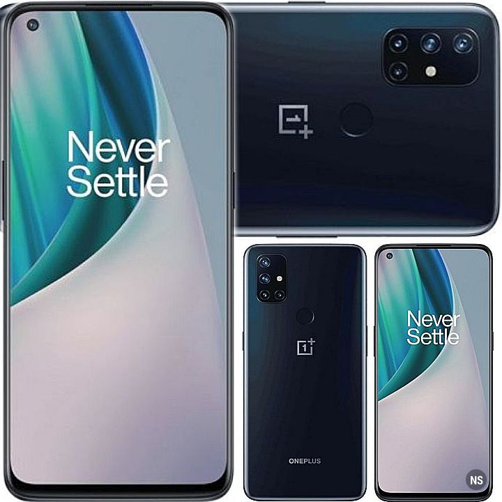 OnePlus Nord N10 Smartphone - Specs: 5G Network, 128GB/6GB Memory, 6.49Inch Screen, 5Cams, 8Core, 4300mAh Battery..