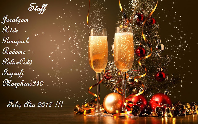 Feliz Año 2017 - Que todos tus anhelos se hagan realidad !!