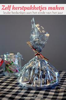 Zelf kerstpakketjes maken - leuke bedankjes aan het einde van het jaar