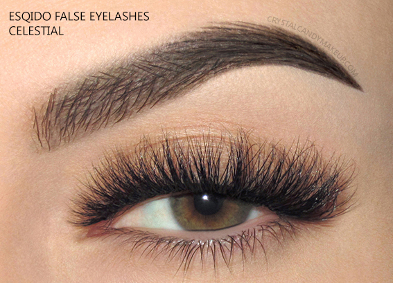 Esqido False Lashes Noire Collection Celestial