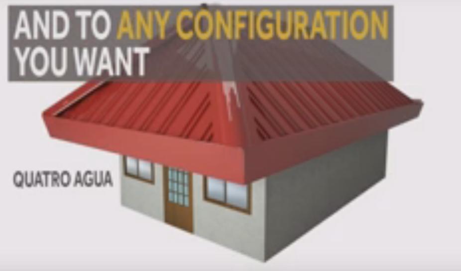 Quatro Aguas Roof Design The Expert