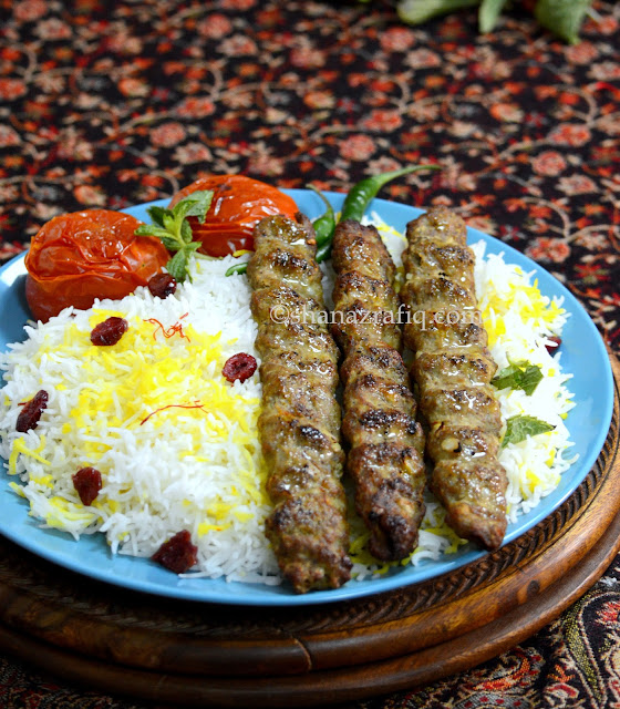 Persian Meat Mince Kebab
