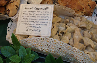 The Bergamo speciality casoncelli