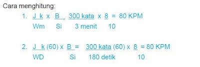 Cara Menghitung Kecepatan Membaca