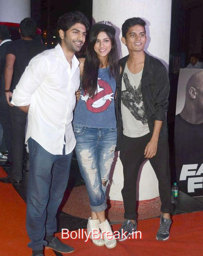 Taaha Shah, Sapna Pabbi, 'Fast & Furious 7' Premiere Photo Gallery