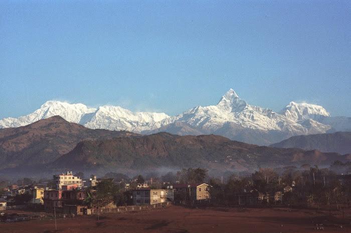 Népal, Pokhara, Annapurna, © L. Gigout, 1990
