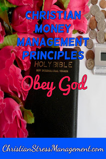 Christian money management Obey God