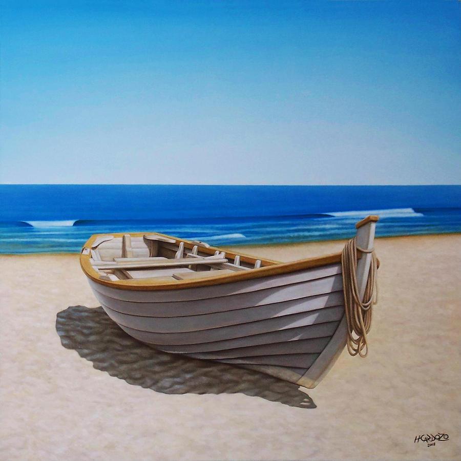 лодка и пустота