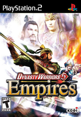 Dynasty Warriors 5 Empires PS2 GAME ISO