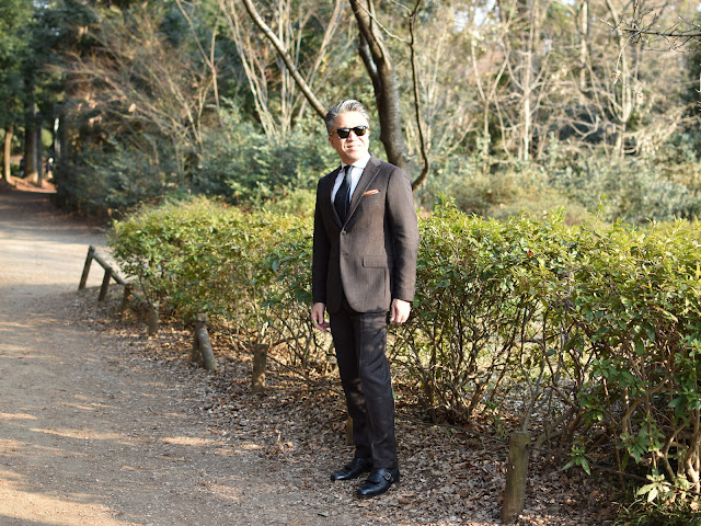ボリオリのスーツ