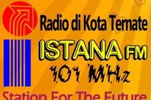 Radio Istana fm 101 MHz Ternate