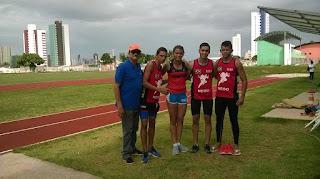 Atletas de Frei Martinho conquistam 8 medalhas no campeonato paraibano caixa de atletismo Sub-18