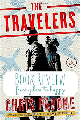 The Travelers by Chris Pavone is a globe-trotting spy thriller that will keep you turning pages to solve the riddles!