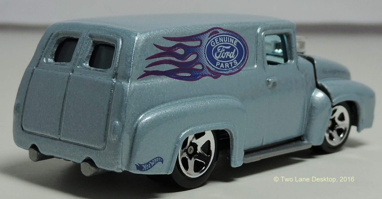 Hot Wheels 1956 Ford Pickup Panel And School Busted 1948 Truck 4x4 One Of Those That I Recently Found Is The Line Trucks In Form A Bus