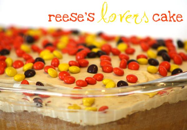 Easy Reeses Cake