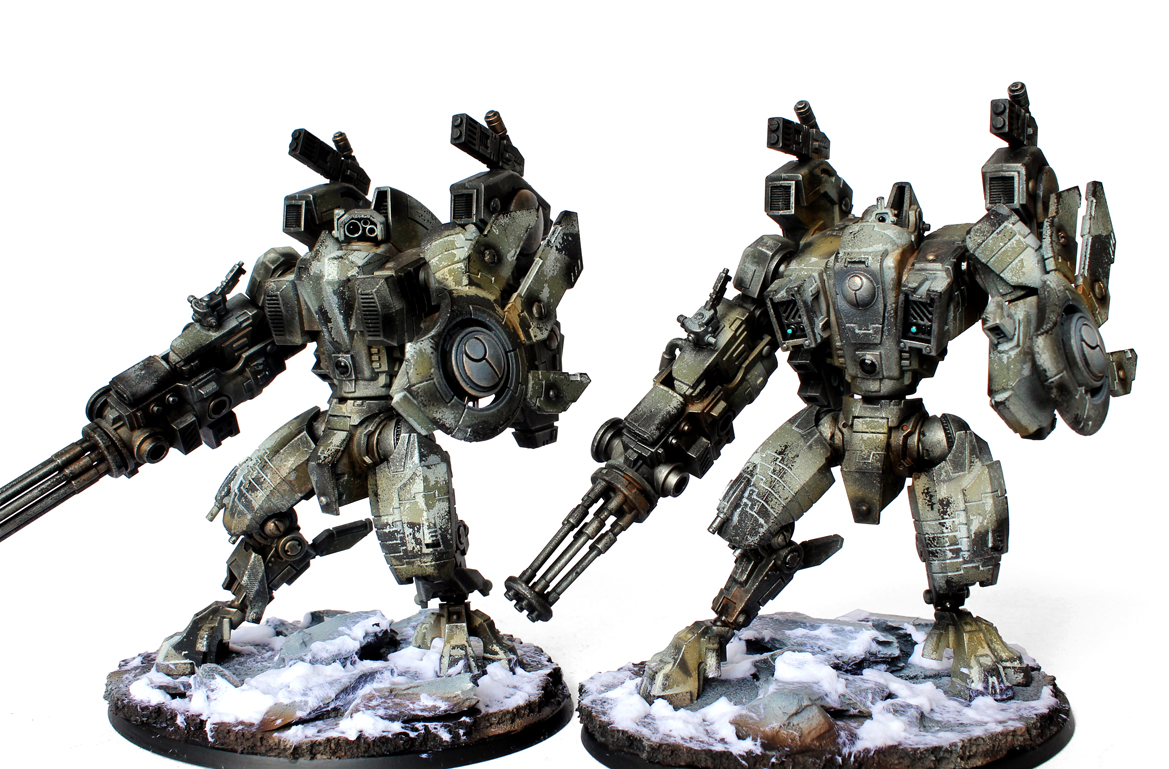 Showcase: Tau Riptides - Tale of Painters