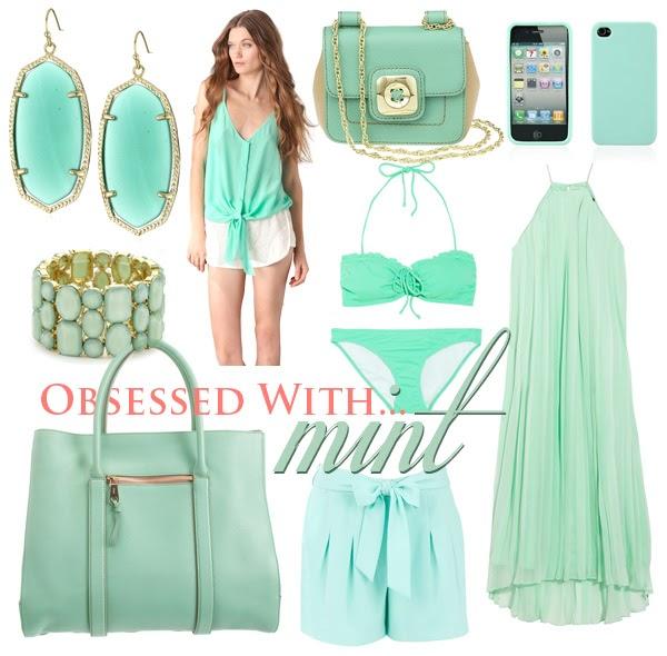 swear  chanel mint green fashion trends