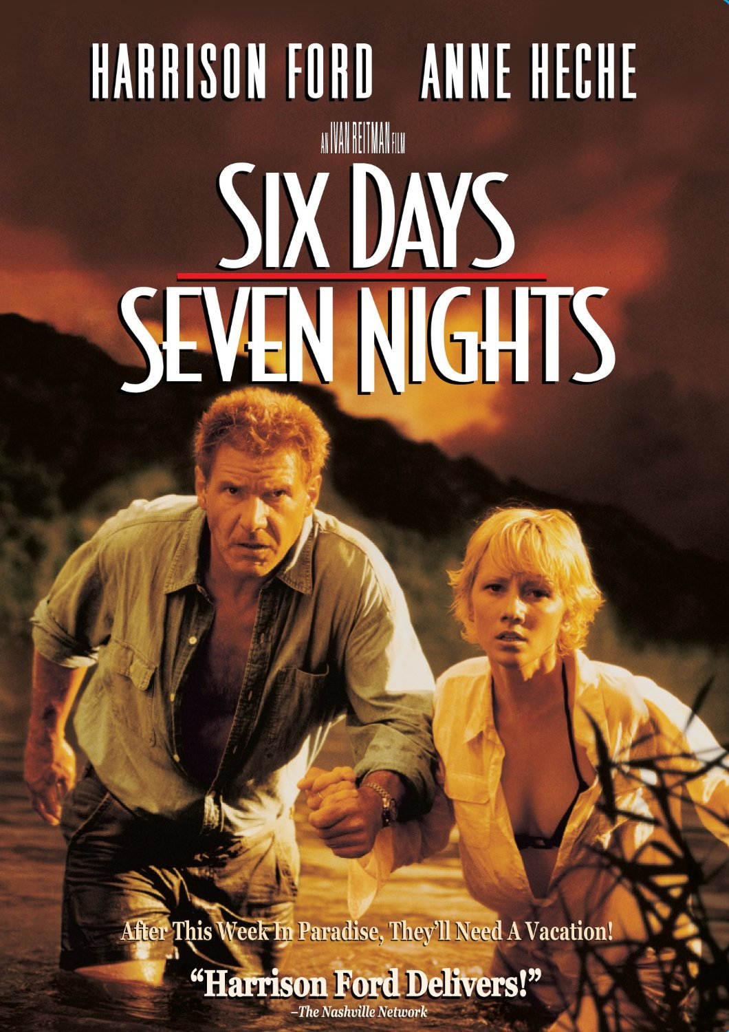 Six Days Seven Nights (1998) ταινιες online seires oipeirates greek subs