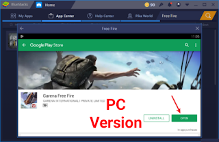 Free fire for pc, How To Download Free Fire For PC