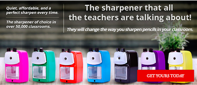 pencil sharpeners, classroom friendly supplies