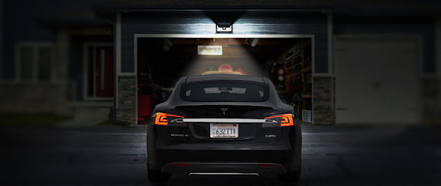 Sensor Light Giveaway car