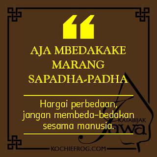 Kata Kata Bijak Bahasa Jawa dan Artinya 1