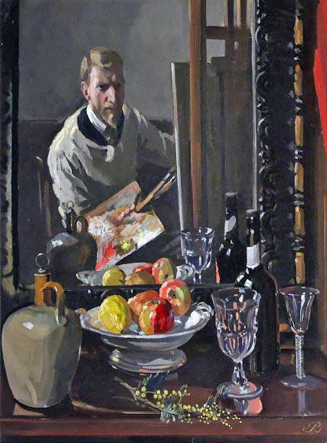 Philip Connard, Self Portrait, Portraits of Painters, Fine arts