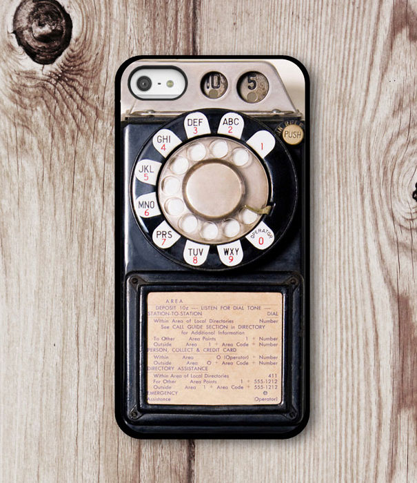Old Phone Iphone Case