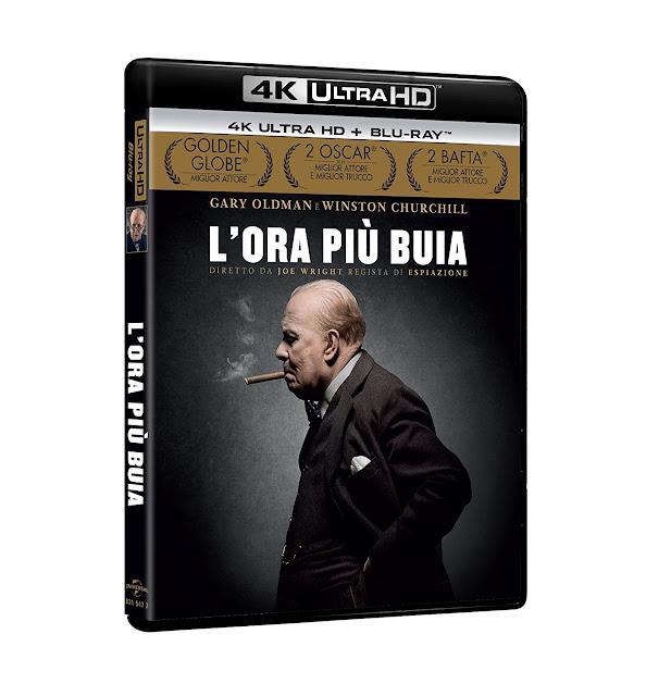 L'Ora Più Buia Blu-Ray