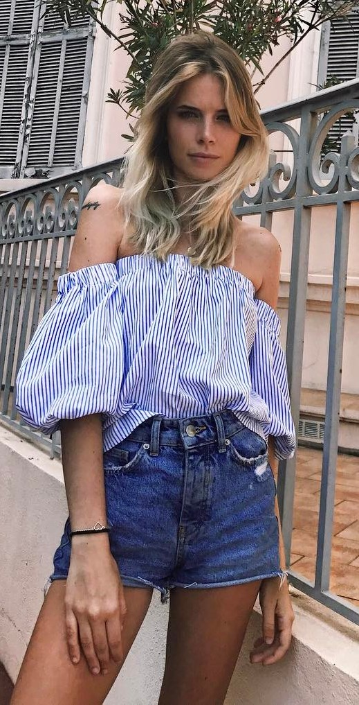 beautiful summer outfit idea