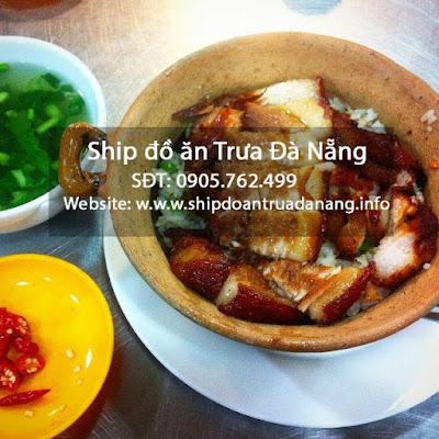 Com tho heo quay - ship do an nhanh Da Nang