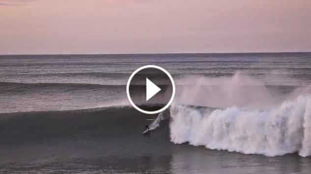 BASQUE COUNTRY WINTER SURF