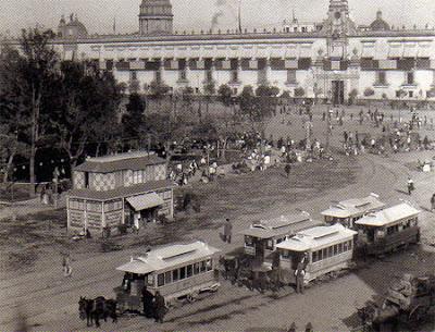 Los tranvías mexicanos a finales del siglo XIX