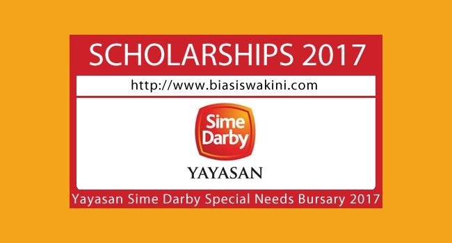Yayasan Sime Darby Special Needs Bursary 2017