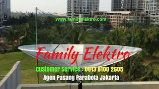 Jasa Pasang Parabola Kebayoran Baru ~ Family Elektro