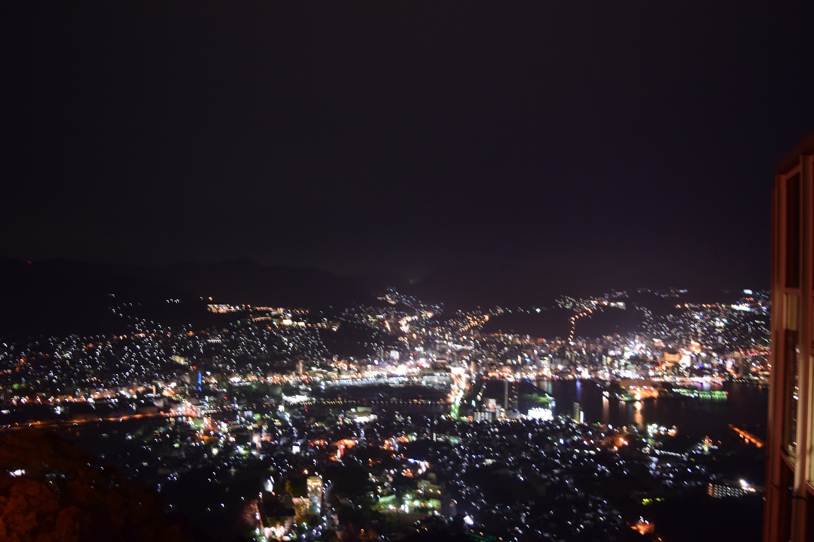 Inasa Yama Nagasaki night view