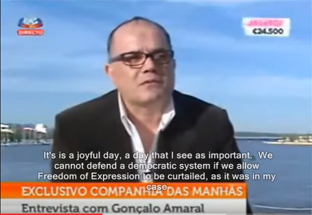 An Emotional Gonçalo Amaral Explains The Suffering Of His Family