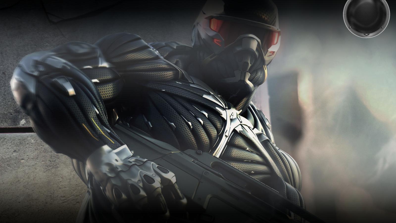 Nanosuit 2 Crysis 2 Game Wallpaper