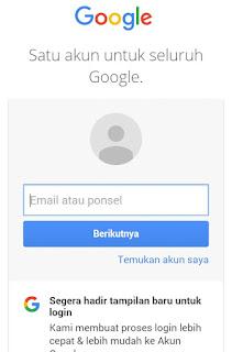 Google Hadirkan Tampilan Baru Untuk Login