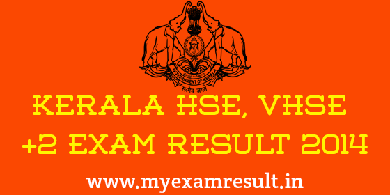 Kerala Plus Two VHSE Result 2014