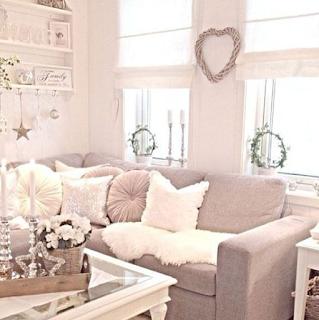 Desain ruang tamu sederhana konsep vintage