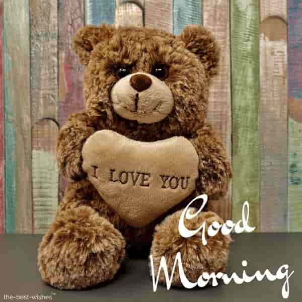 good morning teddy bear image free download