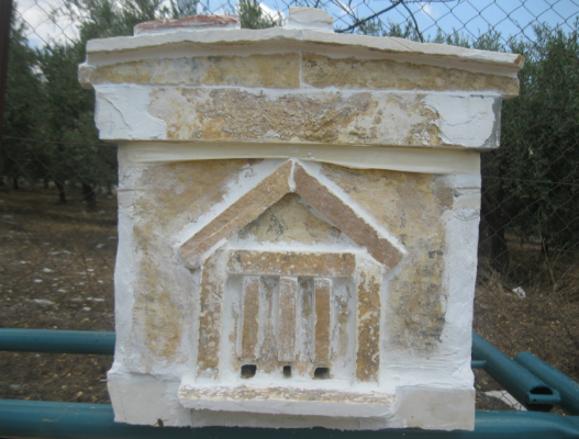 Πέτρινη κυψέλη στην Λεπενού Αιτ/νιας: Όταν το μεράκι συνάντα την τέχνη photos