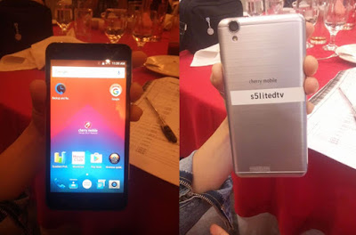 Cherry Mobile Flare S5 Lite DTV Unveiled; Quad Core with Digital TV for Php2,999